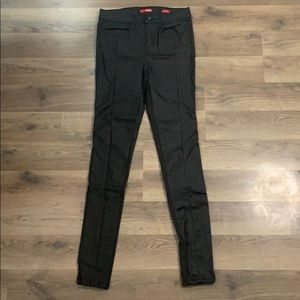 Black Faux Leather Pants Bongo Size 3